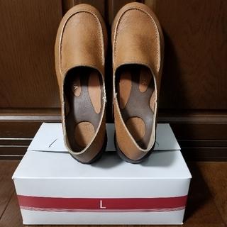 リゲッタ(Re:getA)の【Re:getA】ローファードライビングシューズLサイズ(ローファー/革靴)