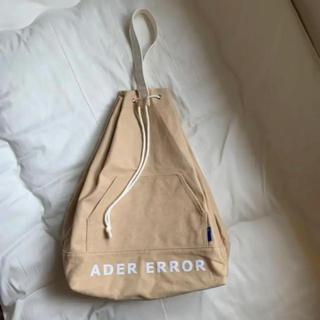 メゾンキツネ(MAISON KITSUNE')のadererror アーダーエラー bag バッグ(バッグパック/リュック)