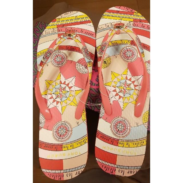 Tory Burch(トリーバーチ)のTory Burchビールサンダル レディースの靴/シューズ(ビーチサンダル)の商品写真