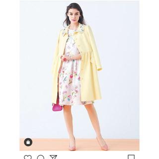 チェスティ(Chesty)のchesty今季 flower coat 0イエロー チェスティ(ロングコート)