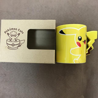 ポケモン(ポケモン)の【新品未使用】ポケモンカフェ限定 ピカチュウのマグカップ(グラス/カップ)