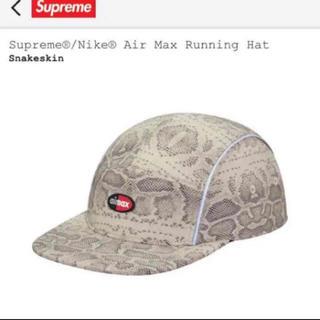 シュプリーム(Supreme)のsupreme nike running hat snake 蛇(キャップ)