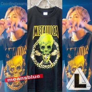ワンオクロック(ONE OK ROCK)のL◆メタリカ  NOLEAFCLOVER ロックTシャツ(Tシャツ/カットソー(半袖/袖なし))