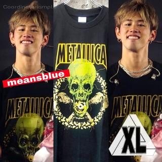 ワンオクロック(ONE OK ROCK)のXL☆メタリカ  NOLEAFCLOVER ロックTシャツ(Tシャツ/カットソー(半袖/袖なし))