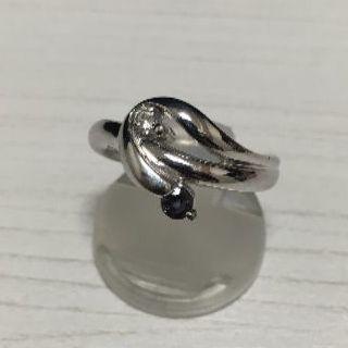 アレキサンドライト 0.19ct プラチナリング 12号 PT900(リング(指輪))