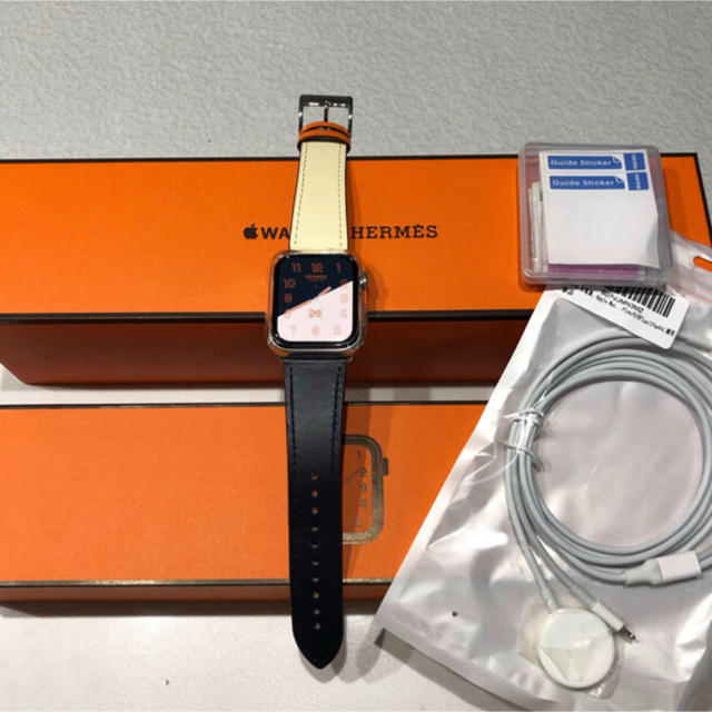Apple Watch - エルメス HERMES Apple Watch4 44mm AppleCare有の通販