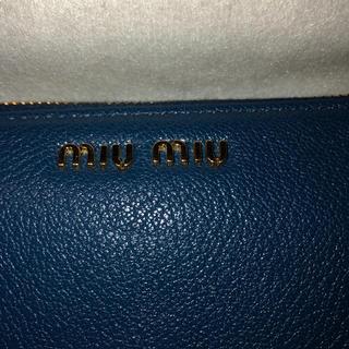 ミュウミュウ(miumiu)の長財布MIU MIU(財布)