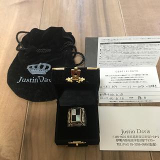 ジャスティンデイビス(Justin Davis)のJustin Davis リング オニキスx白蝶貝仕様(リング(指輪))