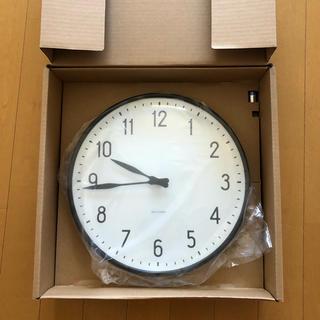アルネヤコブセン(Arne Jacobsen)の新品未使用! アルネ ヤコブセン 掛時計 STATION 29cm(掛時計/柱時計)