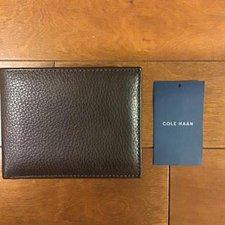 コールハーン(Cole Haan)のコール ハーン 折り財布 パスケース  新品未使用(折り財布)