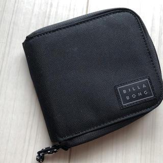 billabong - billabong 2つ折り財布◆黒◆新品同様