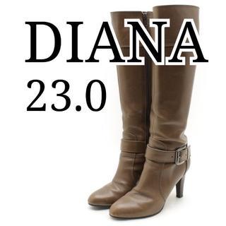 ダイアナ ロングブーツ 23.0cm ブラウン DIANA(ブーツ)