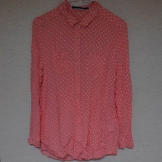 ジエンポリアム(THE EMPORIUM)のドットシャツ 長袖(シャツ/ブラウス(長袖/七分))