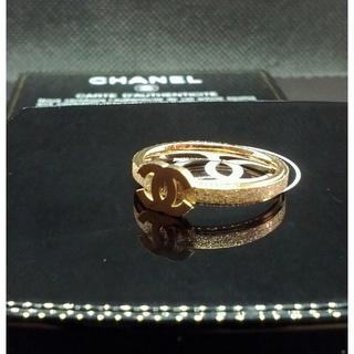 シャネル(CHANEL)のCHANEL シャネル 新品ゴールドノベルティリング指輪14号(リング(指輪))