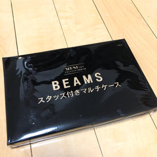ビームス(BEAMS)のotonaMUSE BEAMSスタッズ付きマルチケース(ファッション)