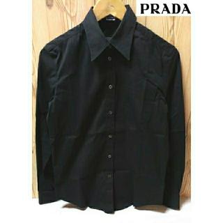 プラダ(PRADA)のPRADA   長袖シャツ    サイズ40(シャツ/ブラウス(長袖/七分))