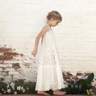 キャラメルベビー&チャイルド(Caramel baby&child )の新品未使用タグ付き tocoto vintage サンドレス ロングワンピース(ワンピース)