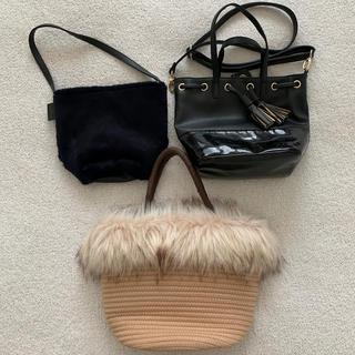 デミルクスビームス(Demi-Luxe BEAMS)の秋福袋♡Demi-Luxe Beams などバッグ3つセット 美品(トートバッグ)