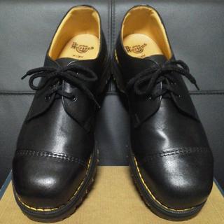 ドクターマーチン(Dr.Martens)の【専用】Dr.Martens 英国製 厚底 3ホール UK8 黒 スチールトゥ(ブーツ)