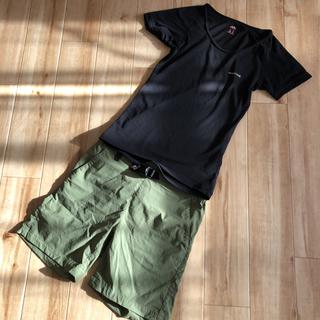 モンベル(mont bell)のモンベル Tシャツ と短パンセット XS  (Tシャツ(半袖/袖なし))