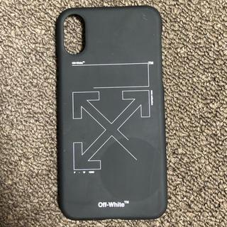 オフホワイト(OFF-WHITE)のオフホワイト iphoneX XSカバー(iPhoneケース)
