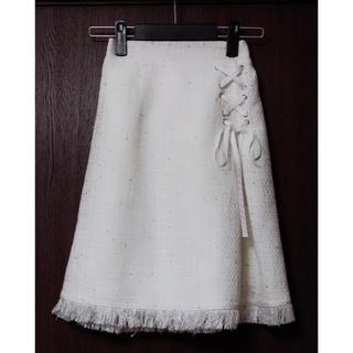 トッコ(tocco)の【新品未使用】tocco closet☆ツイードスカート(ひざ丈スカート)