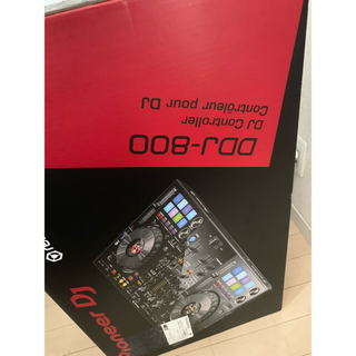 パイオニア(Pioneer)の【新品同等】pioneer ddj800  (DJコントローラー)
