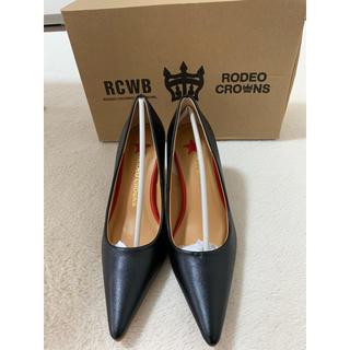 ロデオクラウンズ(RODEO CROWNS)のロデオの黒のパンプ S(ハイヒール/パンプス)