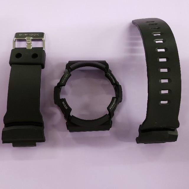 G-SHOCK(ジーショック)のG-SHOCK GAW-100B-1A2JF用ベゼル&ベルト メンズの時計(その他)の商品写真