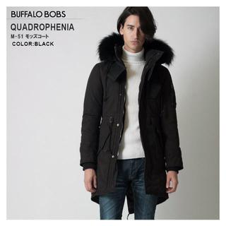 BUFFALO BOBS - BUFFALO BOBS クアドロフェニア モッズコート/1/ブラック