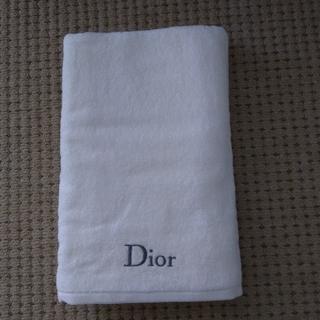 ディオール(Dior)のDior バスタオルノベルティ(タオル/バス用品)