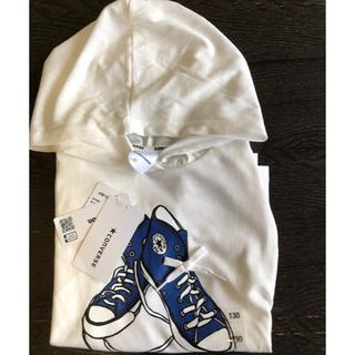コンバース(CONVERSE)のconverse kids  フード付き Tシャツ(Tシャツ/カットソー)