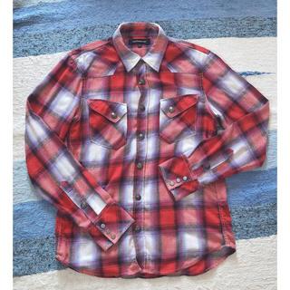 ジャックローズ(JACKROSE)のJACKROSE ジャックローズ チェック ネル 長袖シャツ コンチョボタン(シャツ)