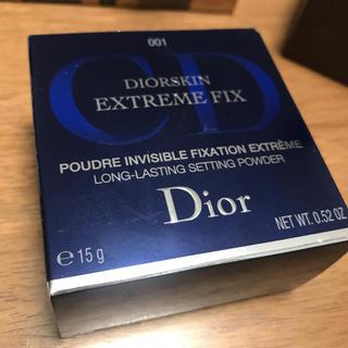 ディオール(Dior)の【新品】ディオールスキン エクストレム フィックス パウダー(フェイスパウダー)