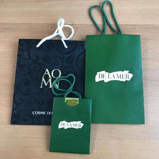 ドゥラメール(DE LA MER)のドゥ・ラ・メール と コスメデコルテ 紙袋(ショップ袋)