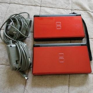 ニンテンドーDS(ニンテンドーDS)のNintendoDS lite 2台(携帯用ゲーム機本体)