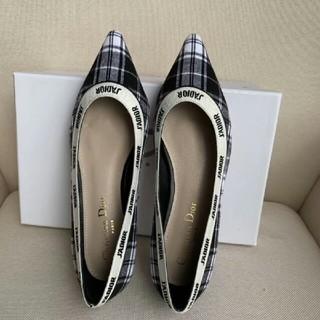 クリスチャンディオール(Christian Dior)の37EU  Dior  ディオール パンプス カジュアルシュ レデイーズ靴 (ハイヒール/パンプス)