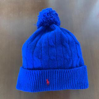 ポロラルフローレン(POLO RALPH LAUREN)のラルフローレン🇺🇸   ウール100%   ニット帽(ニット帽/ビーニー)