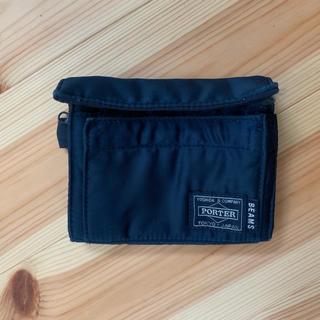 ビームス(BEAMS)のビームズ40周年 PORTER 別注二つ折財布(折り財布)