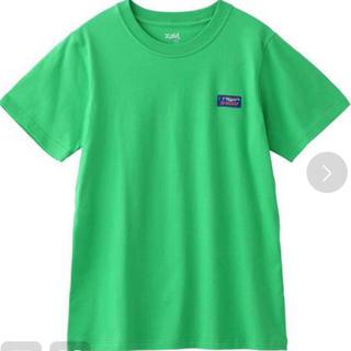 エックスガール(X-girl)のx-girl エックスガール トップス Tシャツ 半袖 グリーン 綿100%(Tシャツ(半袖/袖なし))