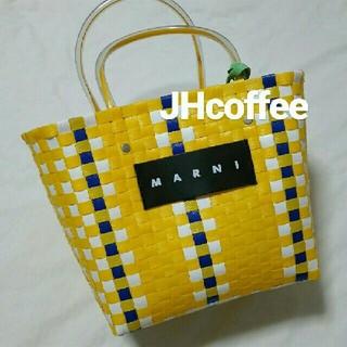Marni - 岩田屋ポップアップ購入 マルニ フラワーカフェ MARNI  ピクニックバッグ