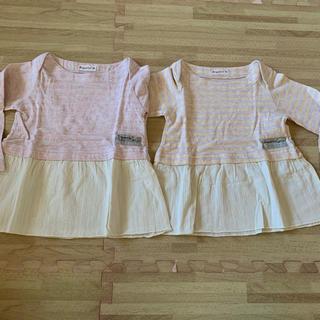 ビケット(Biquette)のキムラタン ビケット Tシャツ チュニック 90(Tシャツ/カットソー)
