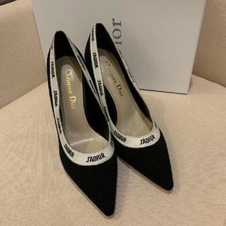 クリスチャンディオール(Christian Dior)の38EU  Dior  ディオール サンダル ハイヒール レデイーズ靴(ハイヒール/パンプス)