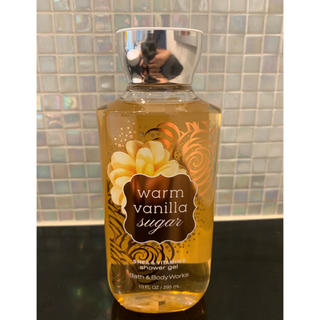 バスアンドボディーワークス(Bath & Body Works)のBath&Body Works warm vanilla シャワージェル(ボディソープ / 石鹸)