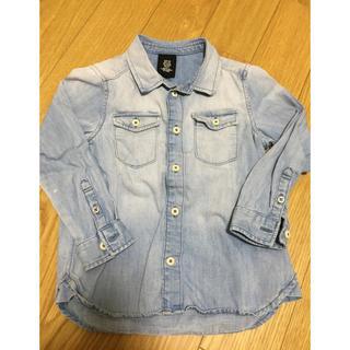 エイチアンドエム(H&M)のデニムシャツ(ジャケット/上着)