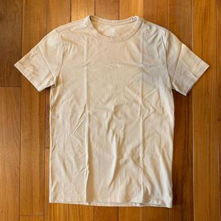 ギャップ(GAP)の美品☆GAPメンズ☆ベージュTシャツ☆XS(Tシャツ/カットソー(半袖/袖なし))