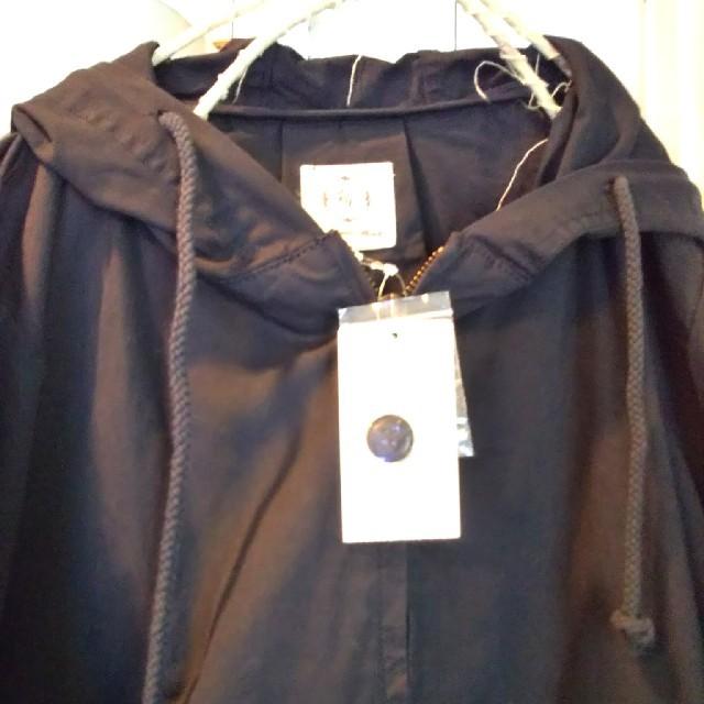 SM2(サマンサモスモス)のSM2 サマンサモスモス フードジャケット新品未使用チャコール レディースのジャケット/アウター(ブルゾン)の商品写真