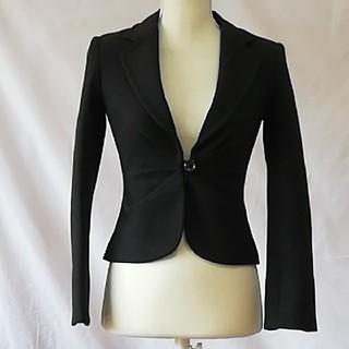 エムプルミエ(M-premier)の極美品エムプルミエ美形ウールジャケット、サイズ34、XS。M-PREMIER(テーラードジャケット)