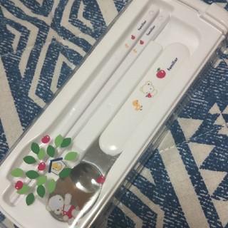 ファミリア(familiar)のfamiliar スプーン&お箸セット(カトラリー/箸)