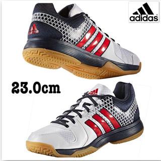 アディダス(adidas)の新品 アディダス 男女兼用バレーボールシューズ Ligra 4(バレーボール)